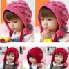 韩版婴儿毛线儿童棉线帽子 多款可爱帽子供应